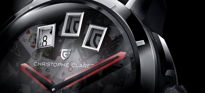 Часы Christophe Claret 21 Blackjack для азартных (5 фото)