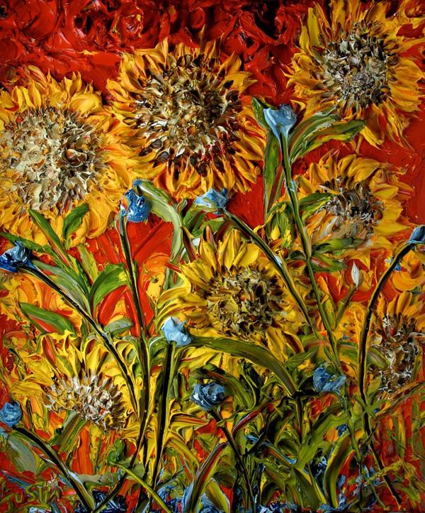 Джастин Геффри и его объемная живопись