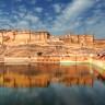 Форт Амбер в пригороде Джайпура (13 фото)