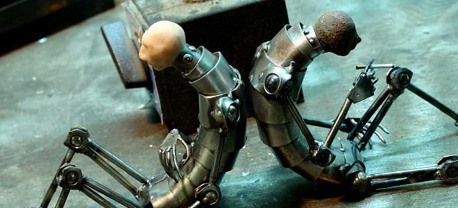 Грег Брозертон и его стимпанк скульптуры (7 фото)