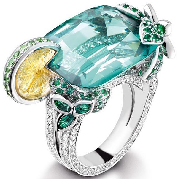 Коктейльные кольца Limelight от Piaget
