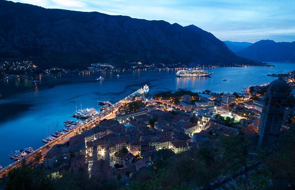 Которская залив в Черногории