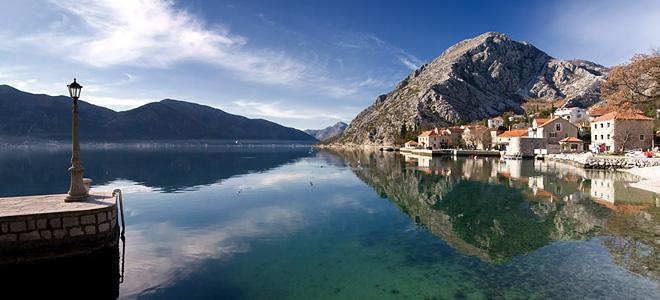 Которский залив в Черногории (7 фото)