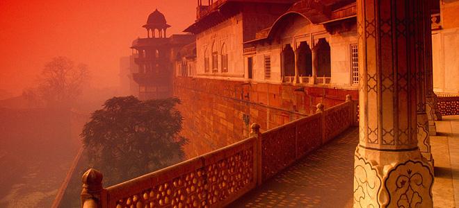 Красный форт в Агре (9 фото)