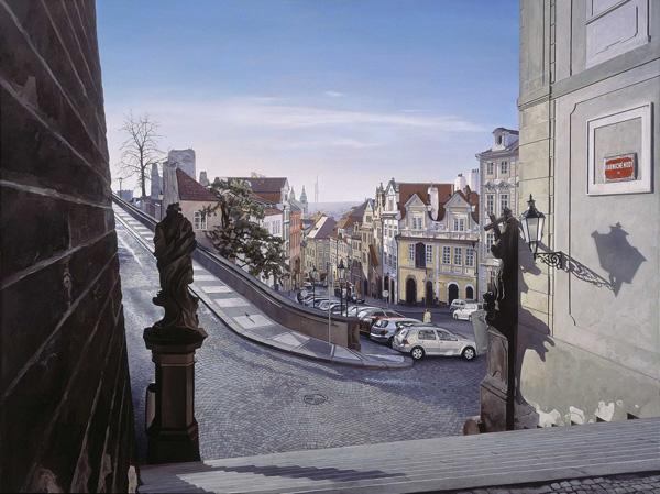 Натан Уолш и его городские пейзажи (17)