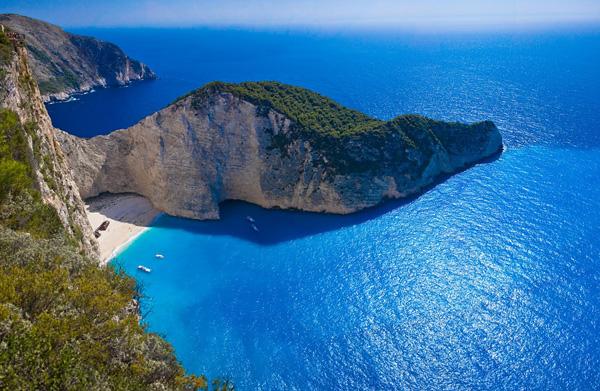 Самая красивая бухта Греции Навагио