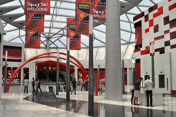 Тематический парк Мир Феррари в Абу-Даби