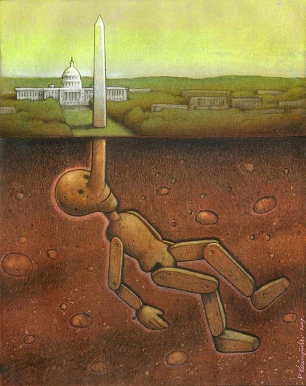 Сатира в иллюстрациях Павла Кучинского (9)