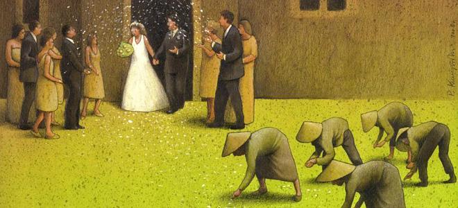 Сатира в иллюстрациях Павла Кучинского (17 фото)