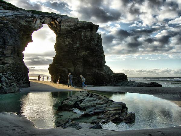 Пляж Кафедральных Соборов в Испании