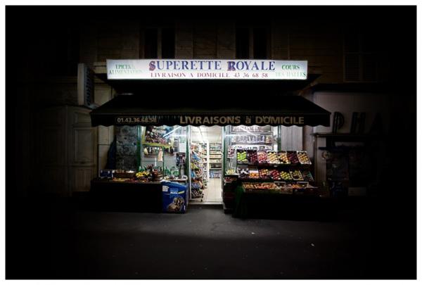 Красота ночных ларьков от Ричарда Вэнтилка
