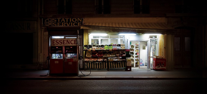 Красота ночных ларьков от Ричарда Вэнтилка (7 фото)