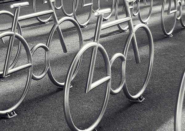 Самая красивая в мире велопарковка