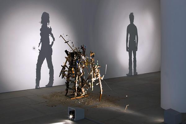 Скульптуры из света и тени
