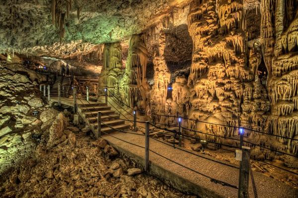 Самая красивая пещера Израиля Сорек