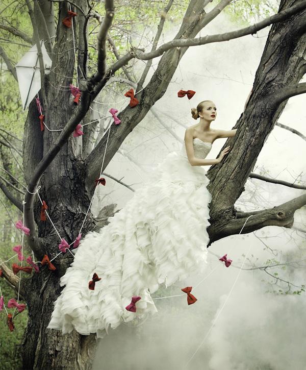 Фантазии в свадебных фотографиях