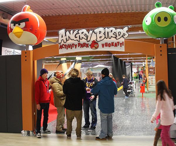 Тематический парк Angry Birds на Вуокатти