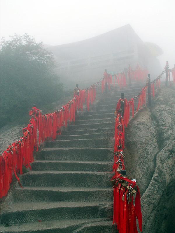 Тропа смерти на горе Хуашань