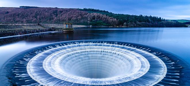 Водохранилище Ледибауэр в Англии (9 фото)