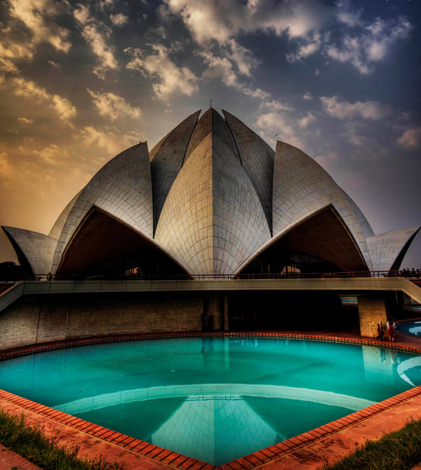 Храм Лотоса в Нью-Дели