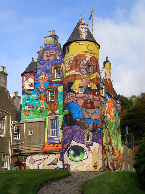 Замок Кельбурн в Шотландии