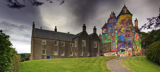 Замок Кельбурн в Шотландии (9 фото)
