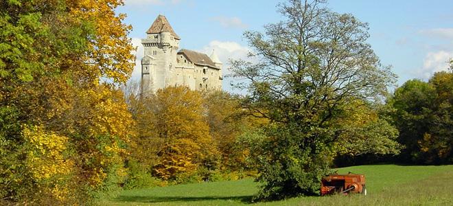 Замок Лихтенштейн в Австрии (5 фото)