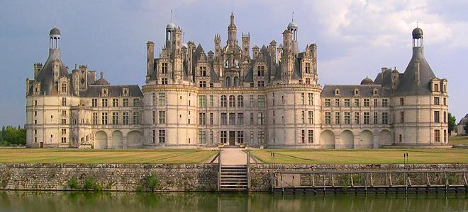 Французский замок Шамбор (9 фото)