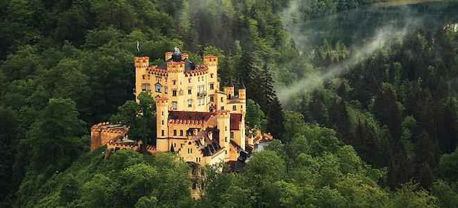Замок Хоэншвангау (11 фото)