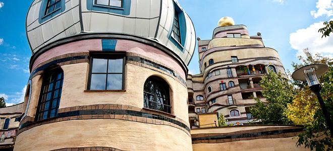 Жилой комплекс «Лесная спираль» в Дармштадте (13 фото)