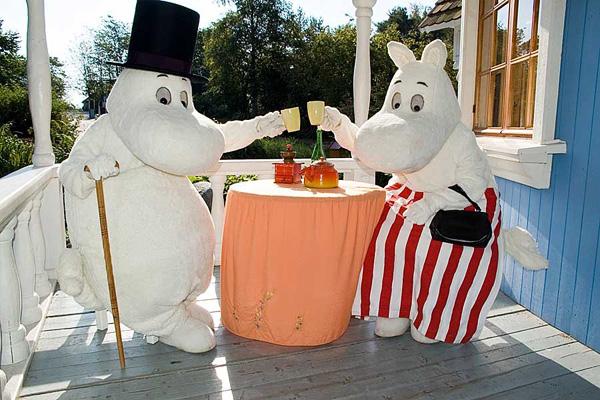 Тематический парк Moomin World в Финляндии