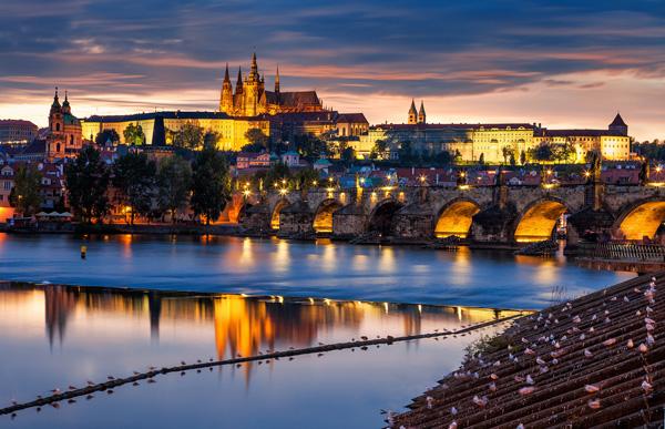 Романтичная и прекрасная Прага