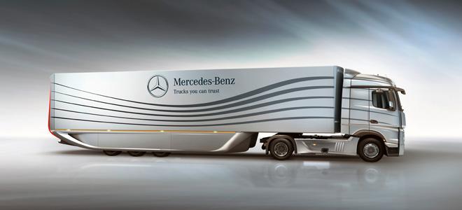 Революционный прицеп Aero от Mercedes (3 фото)