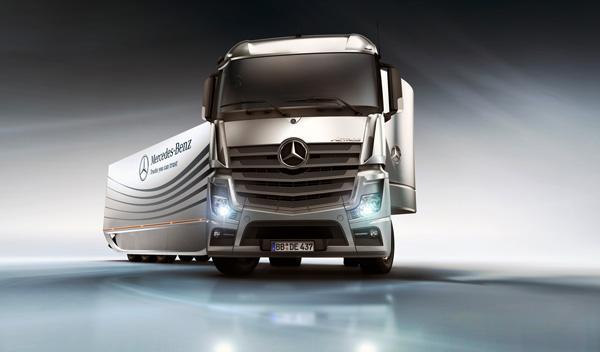 Революционный прицеп Aero от Mercedes