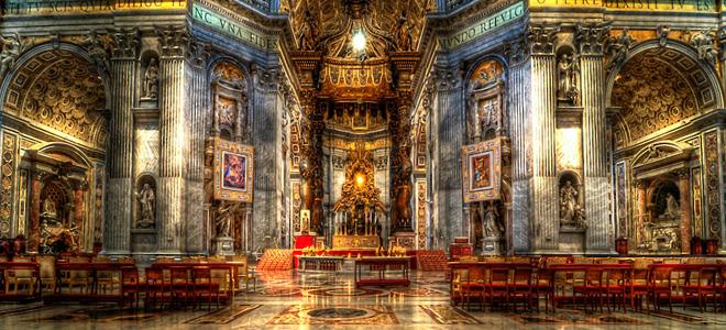 Собор Святого Петра в Ватикане (9 фото)