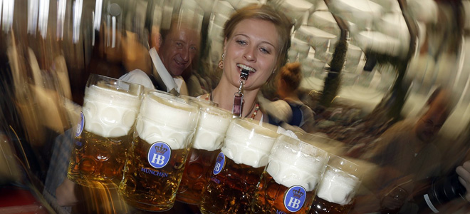 Придворная пивоварня Хофбройхаус (9 фото)