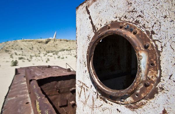 Кладбище кораблей Аральского моря