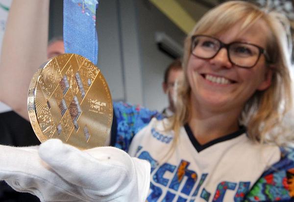 Медали для Олимпиады Сочи-2014