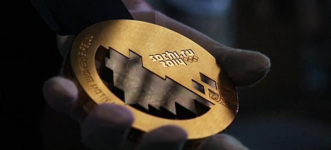Медали для Олимпиады Сочи-2014 (11 фото)