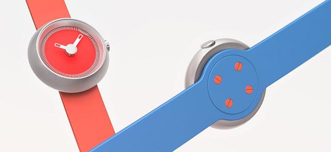 Gravitistic — часы с магнитными стрелками (5 фото)