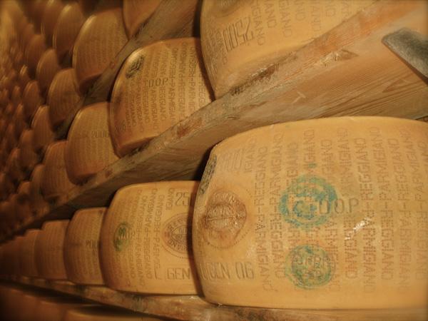 Сырный банк в Италии