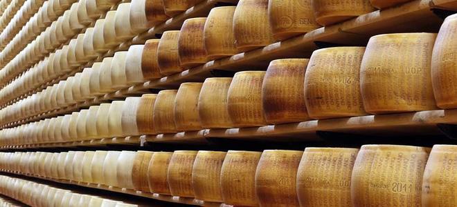 Сырный банк в Италии (5 фото)