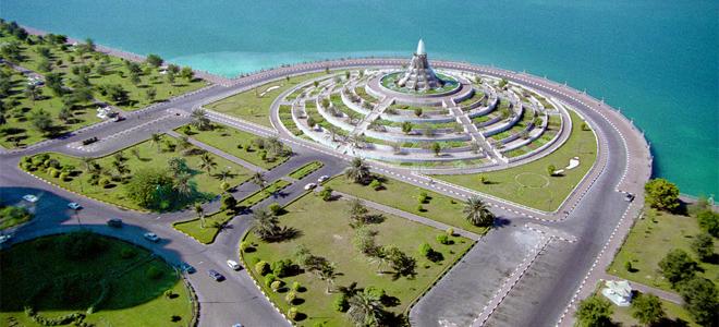 Фонтан-вулкан в Абу-Даби