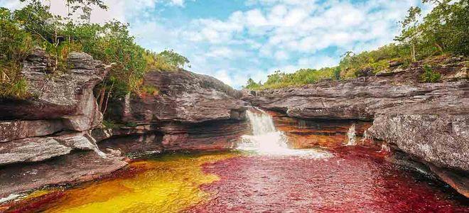 Река Каньо Кристалес, река пяти цветов