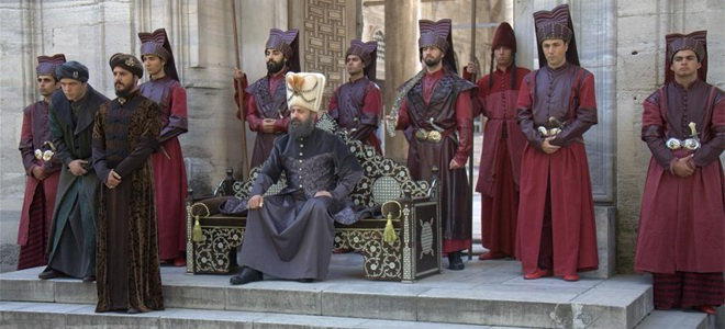 Турецкая сага «Великолепный век»