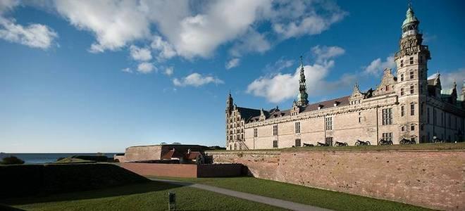 Воспетый Шекспиром Замок Кронборг в Дании
