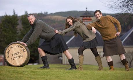 Ежегодный фестиваль виски в Шотландии