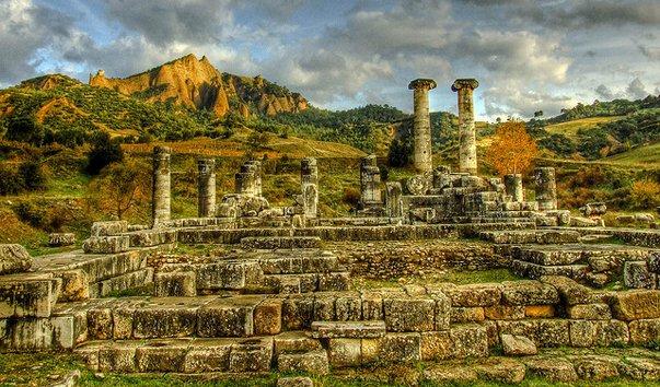 Античные сооружения в Турции