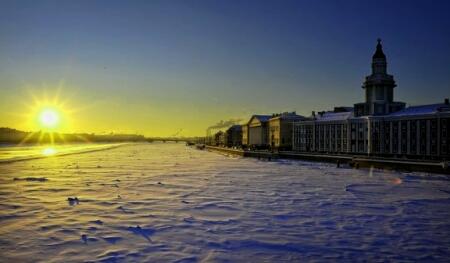 Санкт-Петербург зимой: привычные места в новом качестве