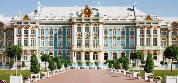 Любуемся дворцами в Царском Селе